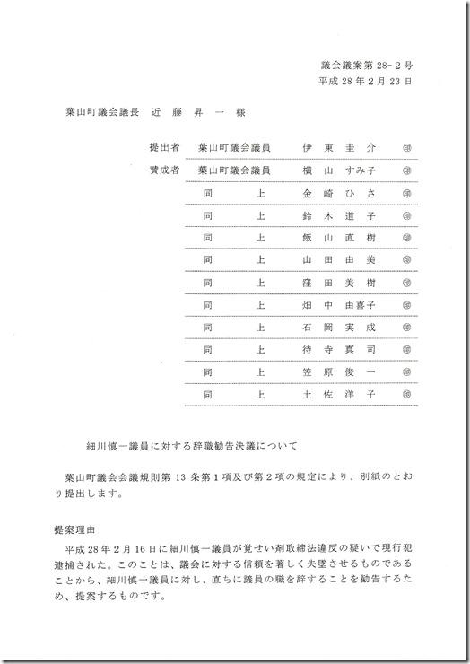 辞職勧告決議_0001